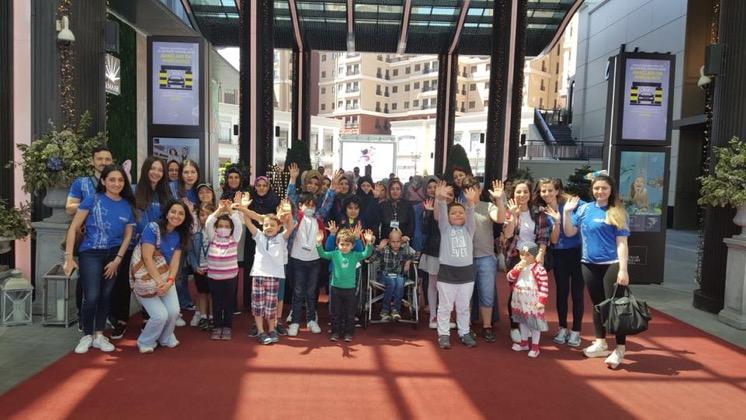 Dilek çocuklarımızla birlikte Emaar Akvaryum ve Sualtı Hayvanat Bahçesi'ni ziyaret ettik