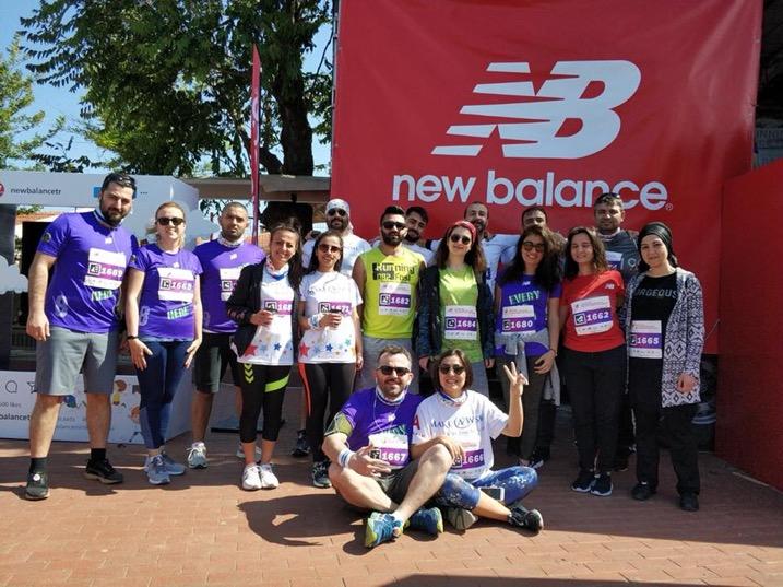 Bozcaada Yarı Maratonu'nda Çocuklarımızı Hayata Bağlayan Dilekler İçin Koştuk