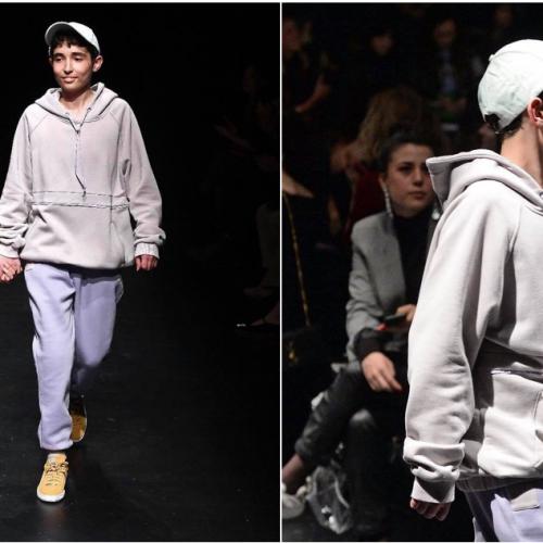 Ahmet Koray'ın en büyük dileği İstanbul Fashion Week'te gerçek oldu