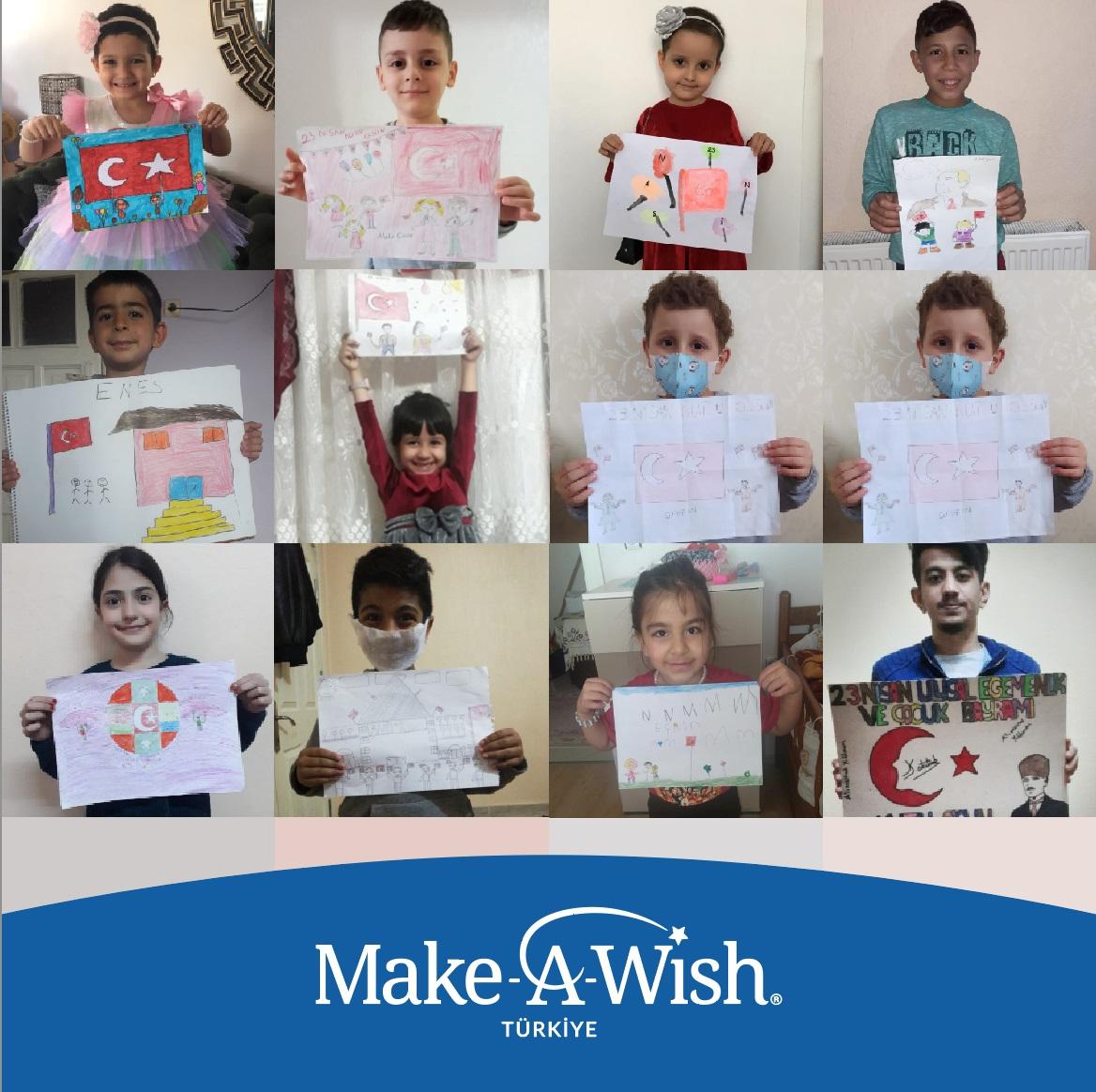 23 Nisan Ulusal Egemenlik ve Çocuk Bayramı'nın 100. yılında dilek çocukları için instagram hesabı üzerinden birçok etkinlik düzenlendi